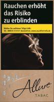 Allure Zigaretten Organic / Tabac Super Slims XXXL 100's (10x40er)