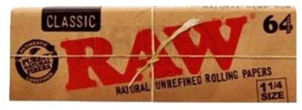 RAW Classic Edition 1 1/4 Papier (24 x 64 Stück)