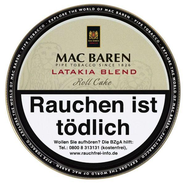 Mac Baren Pfeifentabak Latakia Blend (Dose á 100 gr.)