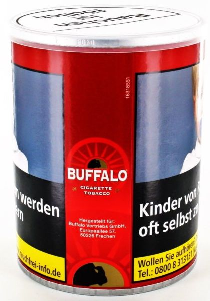 Buffalo Zigarettentabak Red (Dose á 150 gr.)