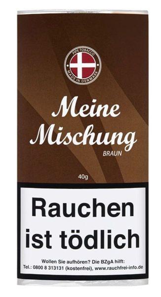 Meine Mischung Pfeifentabak Braun (Pouch á 40 gr.)
