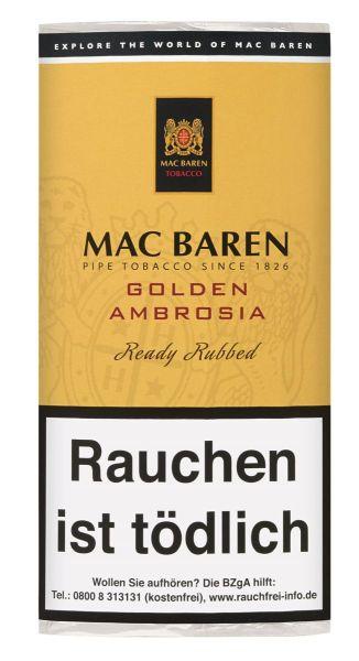 Mac Baren Pfeifentabak Golden Ambrosia (Pouch á 50 gr.)