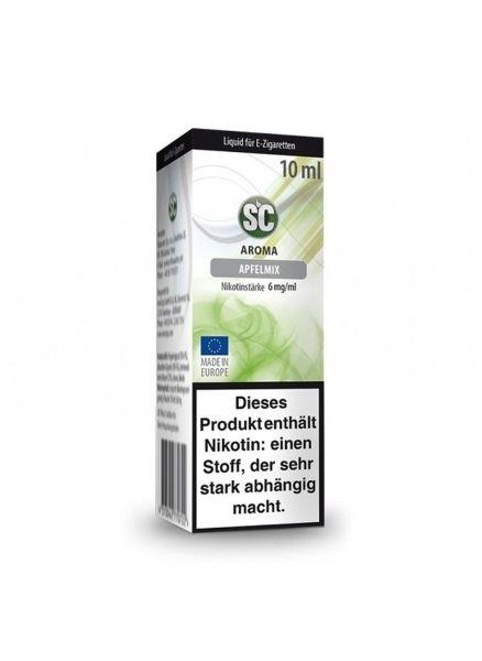 SC Liquid Apfelmix 6mg Nikotin/ml (10 ml)