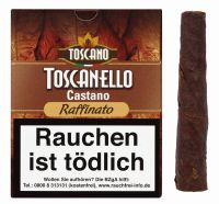 Toscano Zigarren Toscanello Castano Raffinato (Schachtel á 5 Stück)