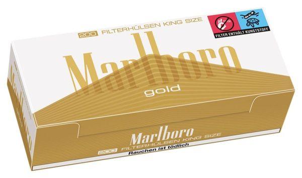 Marlboro Gold Original King Size Zigarettenhülsen (5 x 200 Stück)