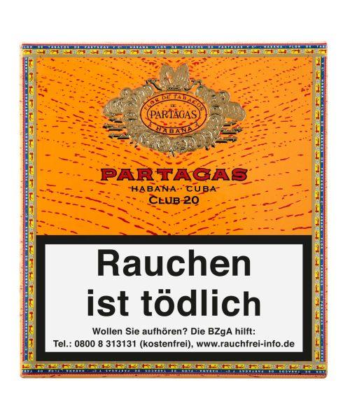 Partagas Zigarillos Club (Schachtel á 20 Stück)