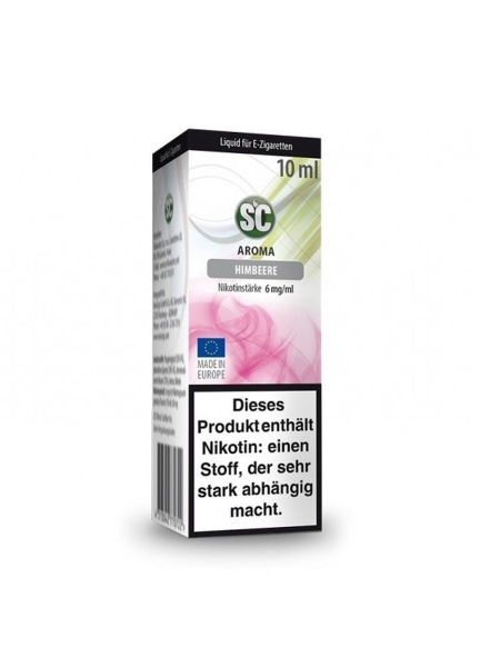 SC eLiquid Himbeere 6mg Nikotin/ml (10 ml)
