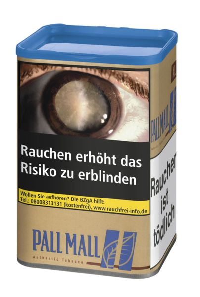 Pall Mall Volumentabak Authentic Blue XL (Dose á 60 gr.)