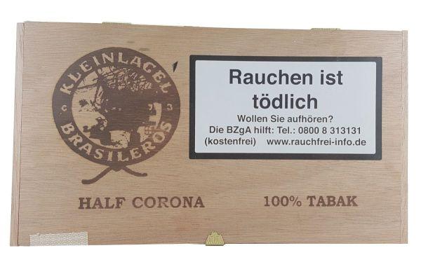 Kleinlagel Zigarren Brasileros Half Corona 100% Tabak (Kiste á 25 Stück)