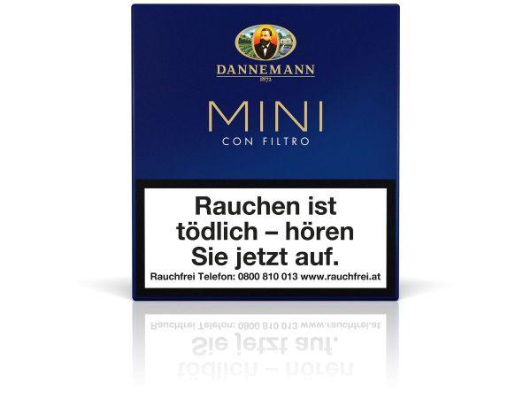 Dannemann Zigarillos Mini con Filtro (Schachtel á 20 Stück)