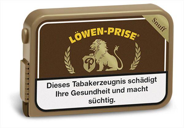 Löwenprise Schnupftabak Snuff (10 x 10 gr.)