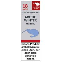 Red Kiwi eLiquid Artic Winter Menthol 18mg Nikotin/ml (10 ml)