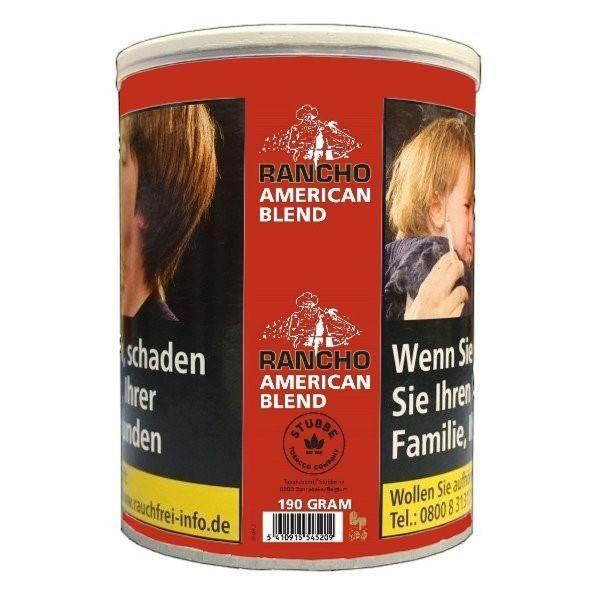 Rancho Zigarettentabak American Blend (Dose á 190 gr.)