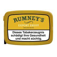 Rumneys Schnupftabak Export Snuff (10 x 10 gr.)