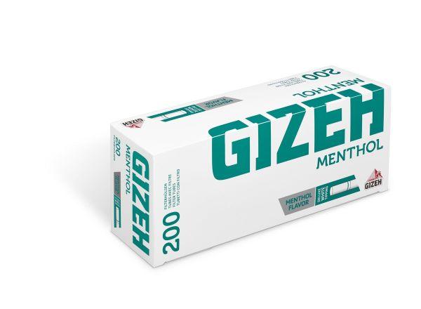 Gizeh Menthol Zigarettenhülsen (200 Stück)