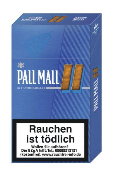 Pall Mall Zigarillos Blue XL Filtercigarillos (10x17 Stück) 2,50 € | 25,00 €