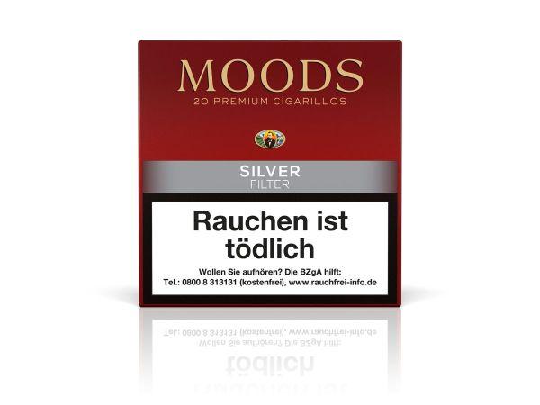 Moods Zigarillos Silver Filter (Schachtel á 20 Stück)