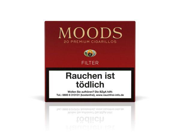 Moods Zigarillos Filter (Schachtel á 20 Stück)