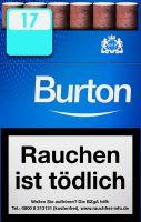 Burton Zigarillos Blue Naturdeckblatt Cigarillos L-Box (10x17 Stück) 2,20 € | 22,00 €