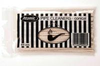 Atomic Clean Pfeifenreiniger Baumwolle weiß (Beutel á 100 Stück)