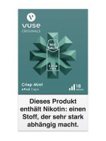 Vuse ePod Caps Crisp Mint Nic Salts 18mg Nikotin 1,9ml (2 Stück)