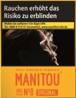 Manitou Zigaretten Original Org Blend No. 8 Big Pack (8x25er)