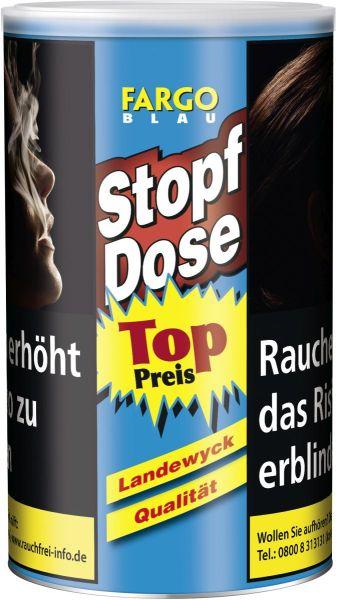 Fargo Zigarettentabak Stopf Dose Blau (XXL) (Dose á 140 gr.)
