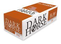 Dark Horse Slim Zigarettenhülsen (Schachtel á 200 Stück)