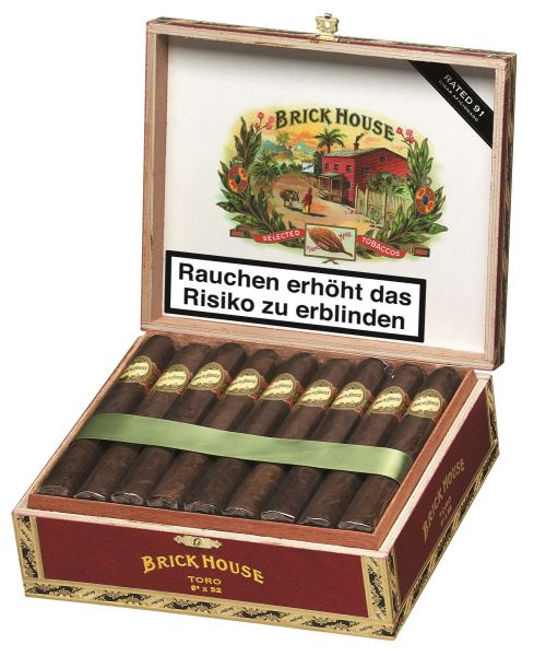 Brick House Zigarren Zigarren Toro (Packung á 25 Stück)