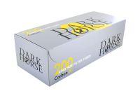Dark Horse Carbon Extra Long Filterhülsen Zigarettenhülsen (Schachtel á 200 Stück)