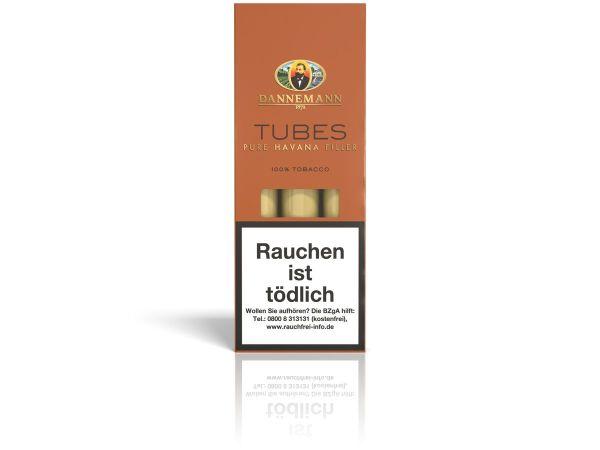 Dannemann Zigarren Tubes Pure Havana (Schachtel á 3 Stück)