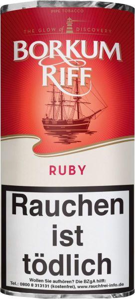 Borkum Riff Pfeifentabak Ruby (Pouch á 50 gr.)