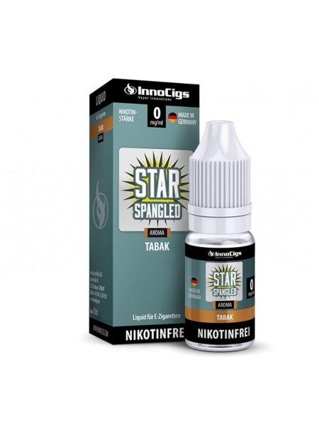 InnoCigs eLiquid Star Spangled Tabak Aroma 0mg Nikotin/ml (10 ml)
