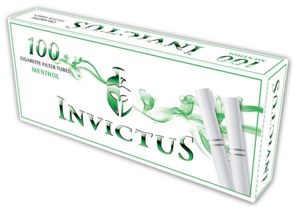 Invictus Menthol Hülsen (Schachtel á 100 Stück)