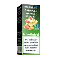 NikoLiquids Sahniges Waffelwunder eLiquid 0mg Nikotin/ml (10 ml)