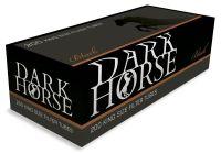 Dark Horse Black mit Kupfer Ring Filterhülsen Zigarettenhülsen (Schachtel á 200 Stück)