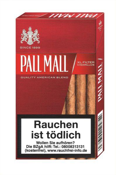 Pall Mall Zigarillos Red XL Filtercigarillos (10x17 Stück) 2,50 €   25,00 €
