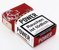 Power red Filter Cigarillos Naturdeckblatt