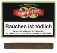 Handelsgold Zigarillos 154 Brasil (Schachtel á 10 Stück)