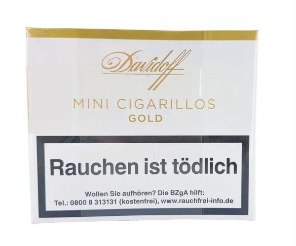 Davidoff Zigarren Mini Cigarillos Gold (Packung á 20 Stück)