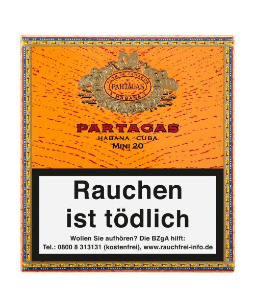 Partagas Zigarillos Mini (Schachtel á 20 Stück)