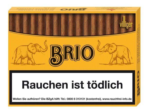 Villiger Zigarillos Brio Sumatra (Schachtel á 50 Stück)