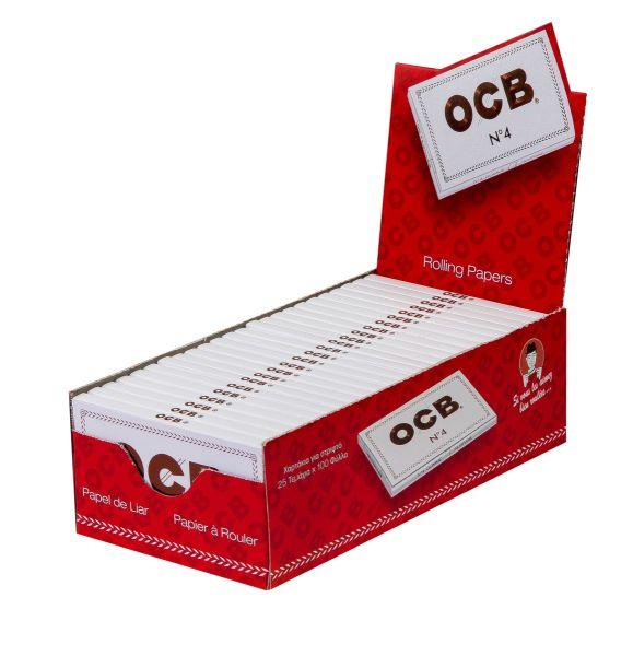 OCB Weiß kurz Zigarettenpapier No. 4 (25 x 1 Stück)