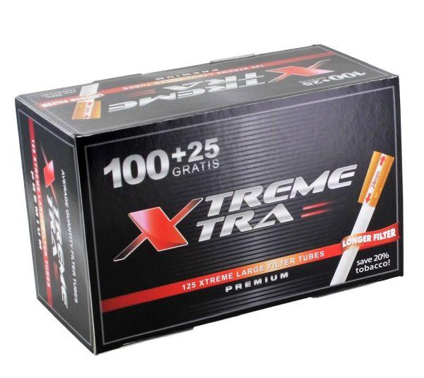 Xtrem Xtra Zigarettenhülsen (125 Stück)