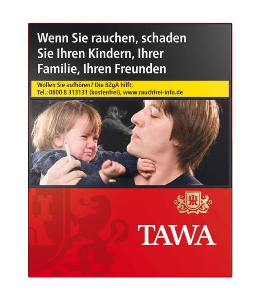 Tawa Zigaretten Red XL-Box (8x24er)