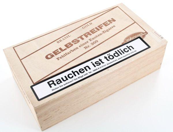 Wörmann Zigarren Gelbstreifen No.300 (Packung á 50 Stück)