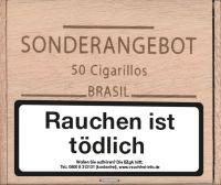 Kohlhase Kopp Zigarren Sonderangebot Cigarillos Extra Brasil (Packung á 50 Stück)