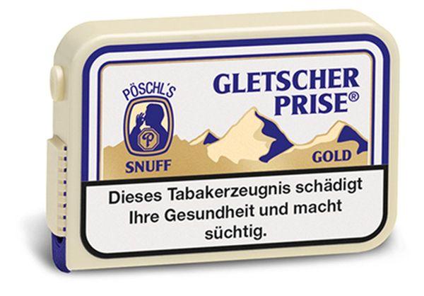 Gletscherprise Schnupftabak Extra (Gold) Snuff (10 x 10 gr.)