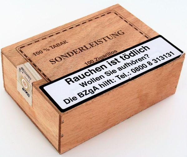 Kleinlagel Zigarren Sonderleistung Brasil Zigarillos (Packung á 100 Stück)