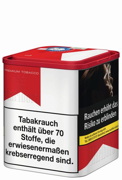 Marlboro Zigarettentabak Premium Tobacco Red (L) (Dose á 90 gr.)